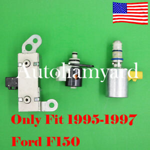 3pcs Oem 4r70w 4r75w Tcc Epc Shift Transmission Solenoid Set For 95 97 Ford F150