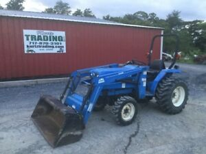 2006 New Holland Tc30 4x4 Compact Tractor W Loader Coming Soon