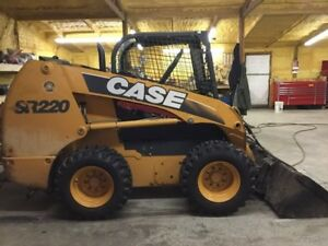 2011 Case Sr220 Skid Steer Loader W New Tires Ride Control Coming Soon
