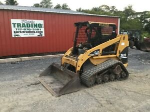 2005 Caterpillar 247b Tracked Skid Steer Loader