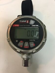 Ametek Crystal Xp2i 100psi Digital Pressure Gauge