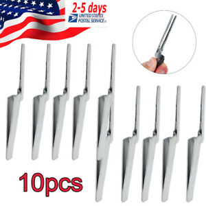 10pcs Dental Articulating Paper Tweezers Holder Holding Forceps For Clinic Fda
