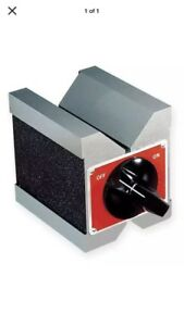 Starrett 566 Magnetic V block 1 3 4 In Capacity