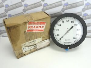 Ashcroft 85 1379as 04l Duragauge Pressure Gauge 8 Face 0 200 Psi new In Box