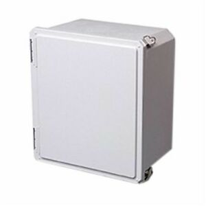 Stahlin Non Metallic Enclosure 24x24x10 Fg Hpl With Back Plate