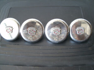 4 Vintage Wire Wheel Stainless Caps For 70s Appliance Wire Wheels Gm Cadillac