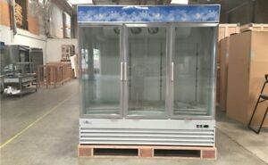 Nsf Three Glass Door Freezer Sd1 9l3 beer Flower Cooler Refrigerators Restaurant