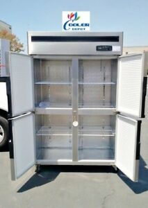 Four Door Commercial Freezer Rf32 cooler Restaurant Equipment commercial