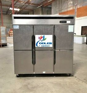 Six Door Freezer Rf46 refrigerated Cooler Restaurant Equipment commercial