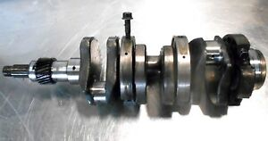 Kubota B1550 Crankshaft Part 1575223010 With Center Main Bearing Carriers
