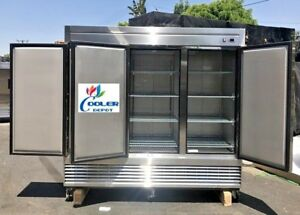 Nsf Three Door Freezer 83f commercial Reach In Freezer Refrigerator Refrigerated