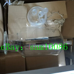10000ml 24 40 glass Reactor four Necks reaction Kettle clamp And Lid lower Mouth