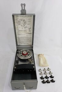 Vintage Lumenite Electronic Co W 112 r Automatic Weekly Time Switch Time Clock