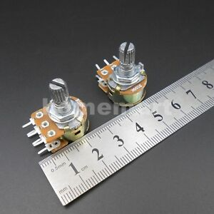 20 1000pcs Wh148 B 1k 2k 5k 10k 20k 50k 100k 500k Linear Potentiometer 6 Pins Hq