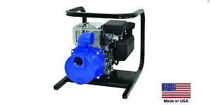 Water Pump Commercial Portable 2 Ports 5 Hp Briggs 10 800 Gph 54 Psi