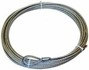 Warn 61950 Wire Rope 7 16 X 90 For M15000 And 16 5ti Winch
