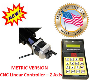 Sherline 8866 Cnc Linear Controlle Z Axis Metric Version Inch Search Pn 8865