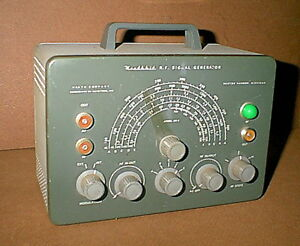 Vintage Heathkit Model Sg 8 Ham Radio Rf Signal Generator For Restoration