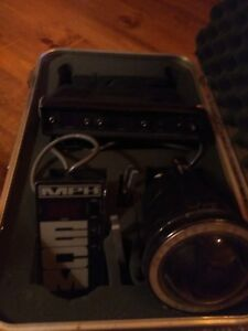 Police Radar Unit Mph K55 Complete Package Mid 90s Great Condition