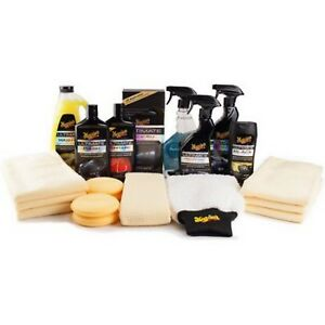 Car Care Gift Pack Meguiar S Complete Auto Exterior Interior Detailing Wax Kit