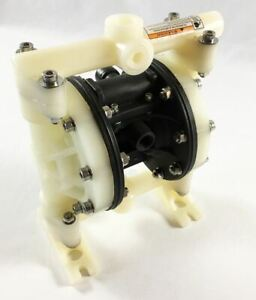 Double Diaphragm Air Pump Pii 50 Chemical Industrial Polypropylene 1 2 Or 3 4