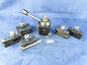 6 Pc Hess Qc Tool Post 250 111 With 5 Tool Holders 4273