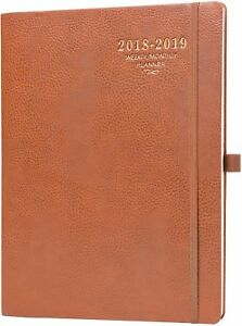 2018 2019 Planner Weekly Monthly Academic Planner With Calendar Stickers A4