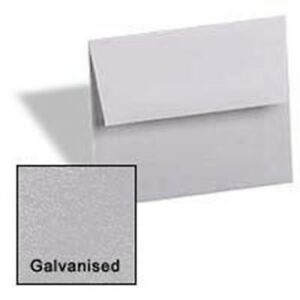 Silver Galvanised A6 4 3 4 x 6 1 2 Envelopes 250 pk Metallic Paperpapers