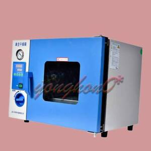 Stainless Steel Tank Vacuum Drying Oven Dzf 6020 Liquid Crystal Display lcd