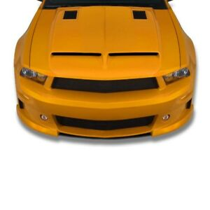 For 2010 2011 2012 10 12 Ford Mustang Ford Gt500 Look Fiberglass Hood Gt 153h
