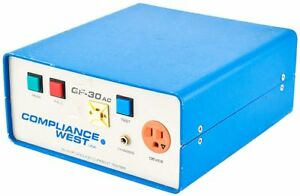 Compliance West Gf 30ac Industrial 30a Bench type Ground Current Tester Parts