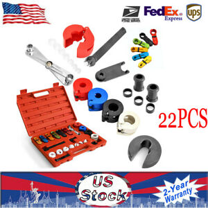 22pcs Car Fuel Line A C Quick Disconnect Tool Kit Air Condition Transmission Usa
