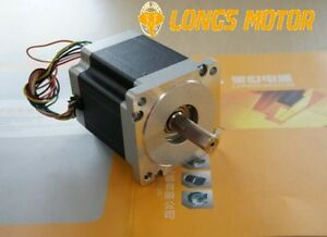Us Ship Stepper Motor 1pc Nema34hs7840 567oz in 4 0n m 4a 8wires 80mm Cnc Longs