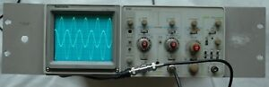 Tektronix 2213 60mhz Two Channel Oscilloscope Two Probes Rack Mount