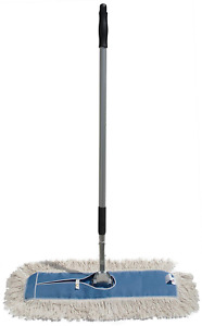 Nine Forty Industrial Strength Ultimate Cotton Dust Mop Aluminum 24 Wide X 5