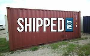 Used 20ft Shipping Container For Home Business Storage We Deliver In El Paso Tx
