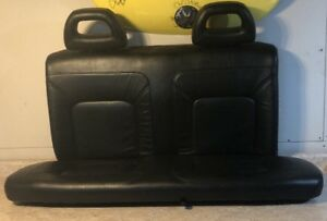 98 05 Vw Beetle Leather Black Back Seat Top bottom Free Shipping With Headrests