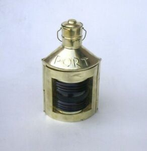 14 Antique Brass Finish Port Starboard Lanterns Ship Oil Lamp Nautical