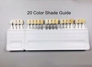 16 Color A d Shade Guide Ivoclar Vivadent Dental 100 Porcelain Teeth 1set