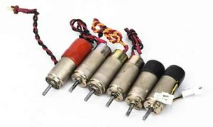 Lot 6x Faulhaber 1624e012s 2230 s Series 12v Dc micromotor W minimotor Gear Head