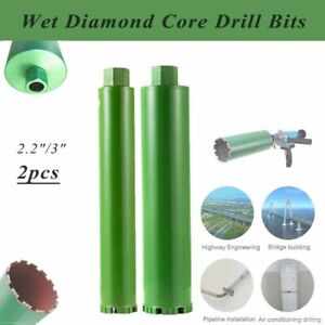 2 1 5 3 Wet Diamond Core Drill Bit For Concrete Core Drilling Premium Grade