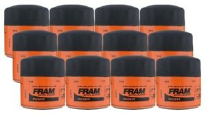 Fram Extra Guard Ph3614 Spin On Oil Filter Pack Of 12
