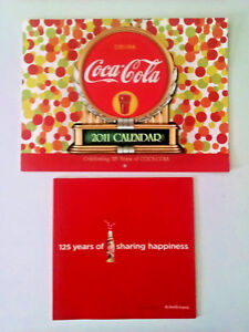 Coca-Cola 125 Years of Sharing Happiness-Calendar & brief history booklet-2011