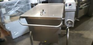 Cleveland Sgl30t1 30 Gallon Gas Power Pan Tilting Skillet 1456