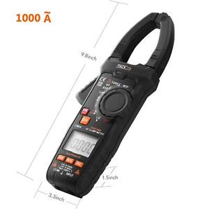 Multimeter Tacklife Cm04 9 8 Inches Length Auto ranging 6000 Counts Clamp Meter