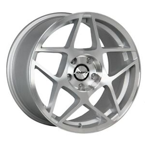 Shift Racing Axle Silver Machine 18 Inch Wheels Rims Tires Fit 5 X 114 3
