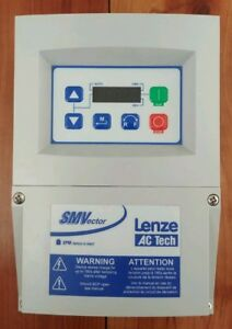 Lenze Ac Tech Smvector Variable Frequency Drive 0 37kw 0 5hp 240v 1 Phase