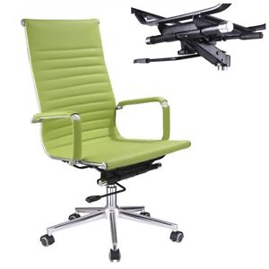Office Chair Swivel High Back Leather Executive Computer Desk Task Home 3 Colors