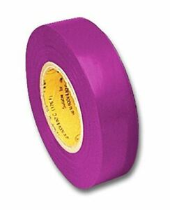 Electrical Tape Purple 66 Foot Roll 3 4 Inch Wide Ul510 Csa 5pack