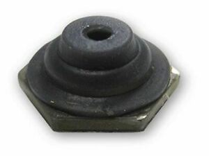 Gray Half Toggle Switch Boot With Through Hole